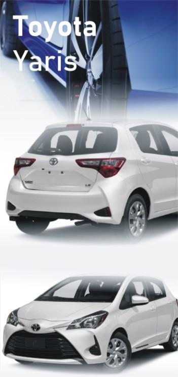 auto-art Bytom szkoli na samochodzie Toyota Yaris
